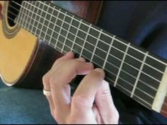 Beginning Classical Guitar Exercise 1 - YouTube