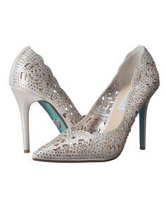 Blue by Betsey Johnson; Elsa Show off your impeccable style with the stunning Elsa heel from Blue by Betsey Johnson. Need these? Click the link below to start shopping now! Shop NowBlue by Betsey Johnson; Elsa
