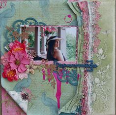 Created by Andiepants using the Swirlydoos August kit Passion Berry. Mixed Media Cards, Altered Art, Scrapbooking, Kit, Layouts, Frame, August 2013, Projects, Crafts