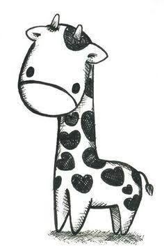 how to draw a cute giraffe - Google Search
