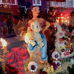 choccywoccydoodah window in Brighton !!
