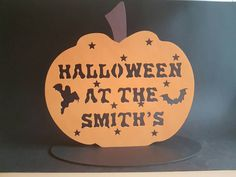 Check out this item in my Etsy shop https://www.etsy.com/uk/listing/467044246/personalised-pumpkin-halloween
