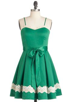 Emerald Smile Dress from modcloth
