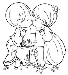 44 Precious Moments Coloring Pages
