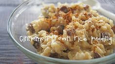 Cinnamon brown rice pudding, healthy dessert recipe, how to make dessert healthy, nutritious dessert recipes, brown rice pudding recipe