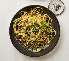 Whichever pasta is your number one, you're likely to love any (or all) of these recipes for spaghetti, lemon and anchovy, confit salmon pappardelle, and a roast aubergine sauce with tahini