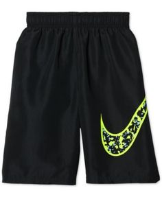 d884eca4f87d4 Nike Core Swoosh Volley Shorts Swim Trunks, Big Boys (8-20) & Reviews -  Swimwear - Kids - Macy's