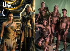 Wonder Woman's Amazons Seem To Be Wearing A LOT Less In Justice League And Fans Have A Lot Of Thoughts! - PerezHilton.com