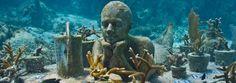 La Jardinera. Museo Subacuático de Arte, Cancún