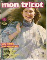 Revista Mon Tricot- nº 118 - Abril 1990