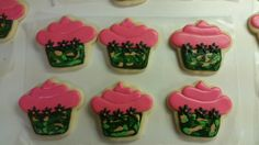 Amy's Crazy Cakes - Cupcake Camouflage Cookies