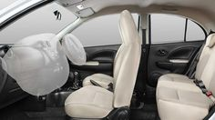 #MicraActive Safety Features Dual Airbags #MicraSafetyFeatures : www.shaktinissan.com