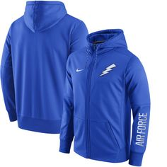 Air Force Falcons Nike Circuit Full-Zip Performance Hoodie - Royal - $84.99