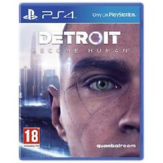 Sony Detroit: Become Human - Action/Adventure Game - PlayStation 4 Xbox One, Zulu, Sony Video Games, Detroit Become Human Game, Mundo Dos Games, Create Your Own Story, Quantic Dream, Cabin In The Woods, Version Francaise