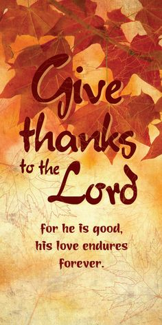 Church Banner - Fall & Thanksgiving - Give Thanks