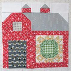 Bee In My Bonnet: The Quilty Barn Along...Barn 6 - Sunny Sunflower Tutorial!!!...