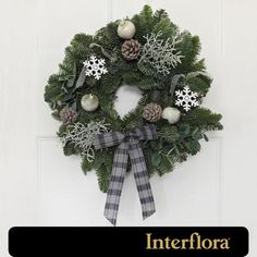 Interflora Luxury Festive Wreath http://www.ocado.com