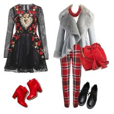 sunday by celyandrades on Polyvore featuring polyvore fashion style Dolce&Gabbana Chicwish Vivienne Westwood Red Label Rebecca Minkoff Laurence Dacade clothing