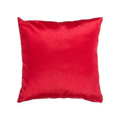 """""""The perfect pick. This Decor 140 decorative pillow gives your decor a polished finish.Features x Zippered cover Solid design Construction & Care Polyester Spot clean Imported Size: Gender: unisex. Accent Pillows, Floor Pillows, Bed Pillows, Decorative Throws, Off Colour, Throw Pillow Covers, Pillow Inserts, Girl Rooms, Red"""