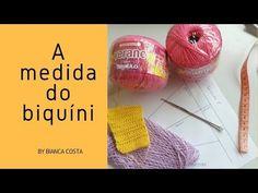 Como Calcular as Medidas de Biquini - YouTube Crochet Romper, Bikinis Crochet, Diy Crochet, Crochet Diagram, Make It Yourself, Embroidery, Knitting, Blog, Look Do Dia