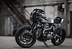 Like any self-respecting cafe racer motorcycle is always eternally work in progress, and so Tuner And after showing his BMW R 65 . Bmw Cafe Racer, Cafe Racer Motorcycle, Motorcycle Outfit, Cafe Racers, R Cafe, Moto Cafe, Cafe Bike, R65, Ducati
