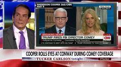 Charles Krauthammer joined Tucker Carlson tonight to react to a CNN interview in which host Anderson Cooper noticeably rolled his eyes at White House counselor Kellyanne Conway.