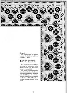 """ru / - Альбом """"Needlepoint Designs from Oriental Rugs"""" Border Embroidery, Embroidery Patterns Free, Cross Stitch Embroidery, Cross Stitch Borders, Cross Stitch Charts, Cross Stitch Patterns, Persian Pattern, Needlepoint Designs, Filet Crochet"""