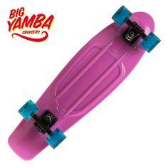 Skateboard - CRUISER BIG YAMBA VIOLET/BLEU