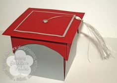 explosion cards and boxes   Graduation Cap Explosion Box by genny_01 - Cards and Paper Crafts at ...