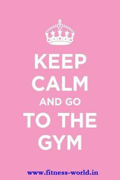 #Keep Calm  #Gym #Workout