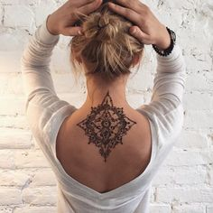 Imagem de tattoo and henna