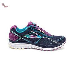 01a925078b41f7 Brooks Ghost 8 W Femme Chaussures Running, bleu, 10: Amazon.fr: Chaussures  et Sacs