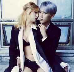 Trouble Maker ♡ HyunA and Hyunseung // Chemistry Mini Album Hyuna And Hyunseung, Hyuna Kim, Kim Hyun Ah, Jang Hyun Seung, Trouble Maker Now, K Pop, Hyuna Tumblr, Hyuna Photoshoot, Korean Girl