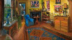Yellow room by Margaret Olley