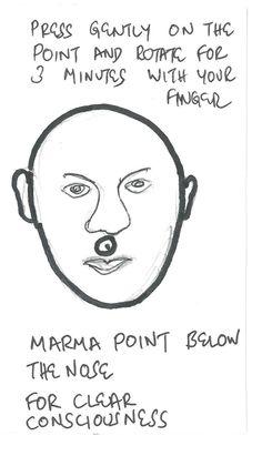 Marma point 7