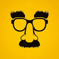 Groucho mask - nerd glasses