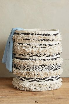 would make a great laundry hamper for cute little baby clothes!