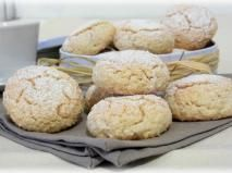 Recette Amaretti Meringue, Cookie Desserts, Cookie Recipes, Macarons, Christmas Cookies, Muffin, Sweets, Bread, Breakfast