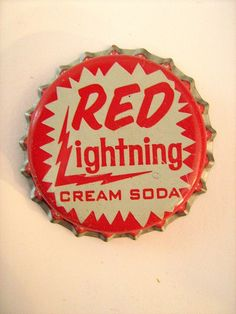 RED Lightning Cream Soda