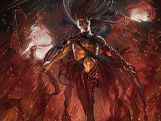 fantasy world warrior