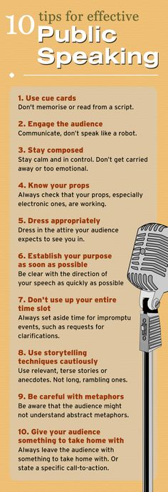 Simple tips to follow for effective #publicspeaking