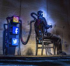 """Mass control"" New piece by Portoguese artist Odeith"
