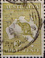 Australia 1915 Kangaroo on Map Good Used SG 37 Scott 47 Other Australian Stamps HERE