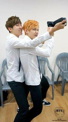Taehyung and Hoseok.