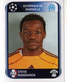 MARSEILLE - Steve Mandanda 363 PANINI UEFA Champions League 2010-2011 football Sticker