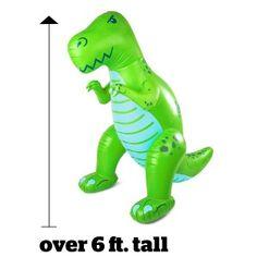 Ginormous Over 6 Foot T-Rex Yard Sprinkler
