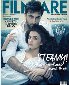 Somebody call 911, Ranbir and Aishwarya's steamy chemistry on the cover of Filmfare just set our screens on fire!