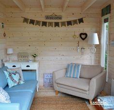 Rückzugsort für die Braut, Spielzimmer für die Kinder oder ein Ort für die Brautparty? Ein Gartenhaus kann, je nach Einrichtung, individuell genutzt werden! Sein Sie kreativ und lassen Sie sich inspirieren unter www.lugarde.de/innenansichten!
