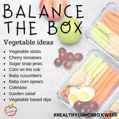 Vegetable Sticks, Vegetable Salad, Bento Box, Lunch Box, Sugar Snap Peas, Coleslaw, Cherry Tomatoes, Vegetables, Lunchbox Ideas