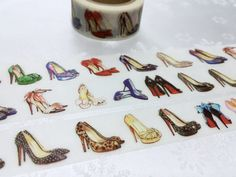 Shoes washi tape 7M x 2 cm shoes planner sticker by TapesKingdom